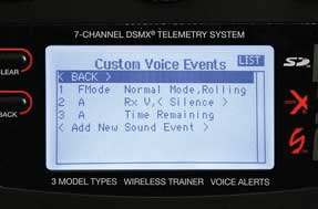 Programmable Voice Alerts