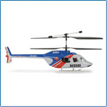 Jet Ranger Body Set, Blue/Red: BCX,BCX2 EFLH1263