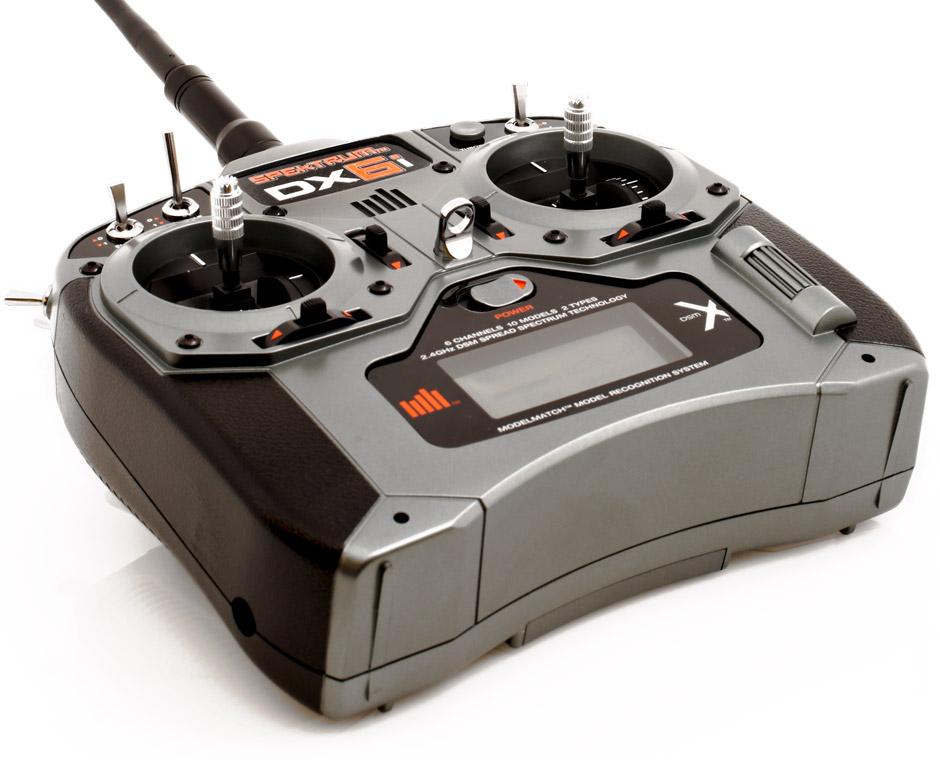 DX6i 6CH DSMX Radio System with AR610 Receiver (SPM6630