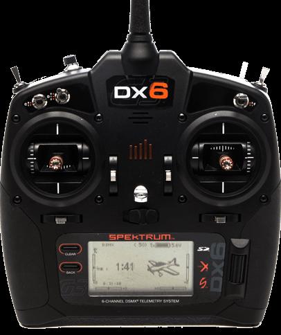 DX6 G3 6-CH DSMX Transmitter w/AR6600T RX MD2 (SPM6755