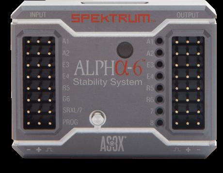 Spektrum Alpha-6 Stability System (SPMAS1000): Spektrum