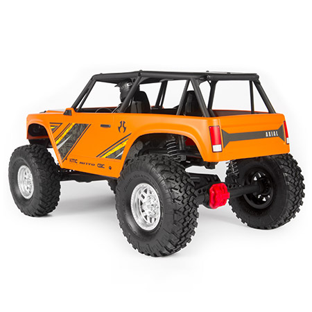 Wraith 1 9 1/10th Scale Electric 4wd RTR Orange (AXI90074T1