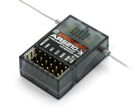 SPMAR6210 ar6210 6 channel dsmx receiver (spmar6210) spektrum the leader  at nearapp.co
