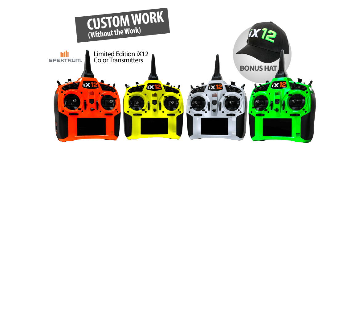 Limited Edition iX12 Color Transmitters