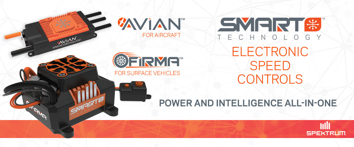 Announcing Avian and Firma Smart Speed Controls from Spektrum!