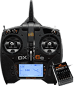 DX6e Transmitter Only with AR610 Receiver